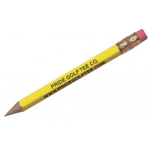 Hex Pencil w/eraser - Engraved