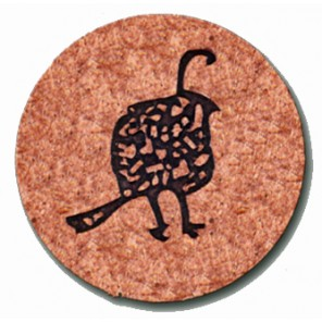 Metal Ball Markers - Embossed