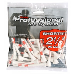 PTS Bagged Short Tees - 2 1/8""