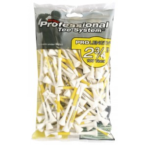 PTS Bagged Pro Length Tees - 2 3/4""
