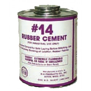 Rubber Cement - 6 Gallons