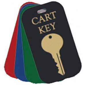 25 Cart Key Tags