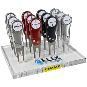 Champ Flix Pro Divot Tool - Custom Logo 50 Pieces