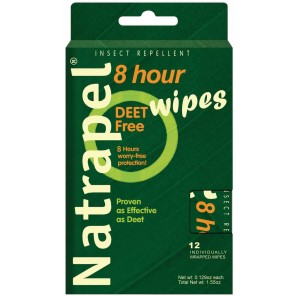 Natrapel DEET-free Wipes
